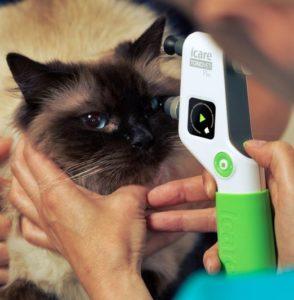 Konsultacje okulistyczne – pomiar ciśnienia wewnątrzgałkowego, badanie lampą szczelinową Kowa